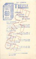 VP-GF.18-204 : BUVARD. LA LESSIVE TREFLE. TREFLE A 4 FEUILLES. LA PLAINE-SAINT-DENIS. SEINE-SAINT-DENIS. - Produits Ménagers