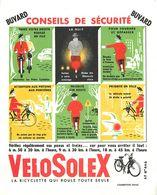 VP-GF.18-210 : BUVARD. SECURITE ROUTIERE. VELOSOLEX. SOLEX. CYCLOMOTEUR. - Buvards, Protège-cahiers Illustrés