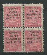 Paraguay - Aérien - Yvert N°3  Oblitéré  Bloc De 4 -  Ava18301 - Paraguay