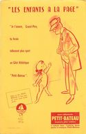 VP-GF.18-212 : BUVARD. VETEMENT ENFANT PETIT-BATEAU. LES ENFANTS A LA PAGE. - Buvards, Protège-cahiers Illustrés