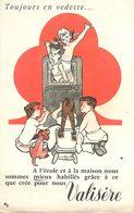 VP-GF.18-214 : BUVARD. VETEMENT ENFANT VALISERE.  ENFANTS TELEVISION. TOUJOURS EN VEDETTE. - Buvards, Protège-cahiers Illustrés
