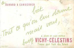 VP-GF.18-216 : BUVARD. L EAU VICHY-CELESTINS. ALLIER. - Buvards, Protège-cahiers Illustrés