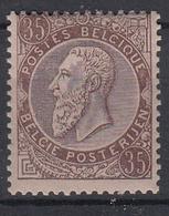 BELGIË - OBP -  1884/91 - Nr 49 (MOOI) - MNH** - 1884-1891 Leopold II