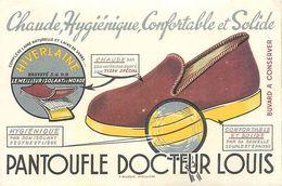 VP-GF.18-225 : BUVARD. PANTOUFLE DOCTEUR LOUIS. - Buvards, Protège-cahiers Illustrés