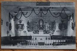 35 : Paimpont - Intérieur De La Chapelle De Coganne - (n°10065) - Paimpont