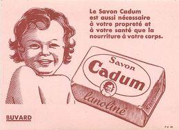 VP-GF.18-238 : BUVARD. SAVON CADUM. BEBE CADUM. - Buvards, Protège-cahiers Illustrés