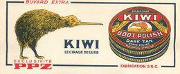 VP-GF.18-246 : BUVARD. CIRAGE KIWI. PPZ - Buvards, Protège-cahiers Illustrés