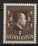 Liechtenstein 1944 Unif. 213 **/MNH VF - Liechtenstein
