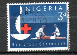 NIGERIA  Croix-rouge 1963 N° 143 - Nigeria (1961-...)