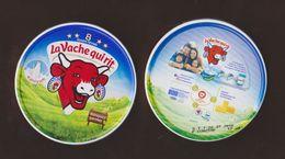 AC -  LA VACHE QUI RIT TRIANGULAR - TRIANGLE CHEESE 8 X 12.5 Gram EMPTY BOX - Cheese