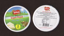 AC -  GULSAN TRIANGULAR - TRIANGLE CHEESE 8 X 12.5 Gram EMPTY BOX - Cheese