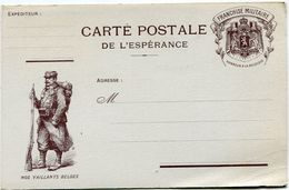 FRANCE CARTE POSTALE DE L'ESPERANCE NEUVE - Marcophilie (Lettres)