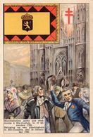 Brussel - Betoging Na Een Plechtigheid In Ste-Goedele, Den 10 December 1789 - Manifestations