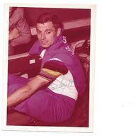 Rik Van Looy, Wereldkampioen 1961 Kleurfoto, Persoonlijk Gesigneerd - Sporters