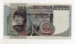 """Italia - Banconota Da Lire 10.000 """" Macchiavelli """" - Decreto 3.11.1982 - (FDC8512) - [ 2] 1946-… : Républic"""