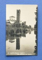 Cartolina Castelfranco Veneto - Lato Pittoresco Del Castello - 1920 Ca. - Treviso