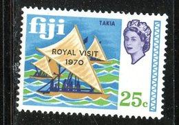 Fiji 1970 25c Royal Visit Issue #288  MNH - Fiji (1970-...)