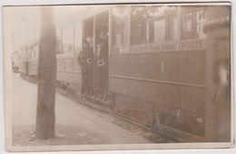 75 Paris 75012 Notre Dame De Bercy - Rue De Tolbiac 75013  Carte Photo  Fait Le 19 07 1935 - Trains