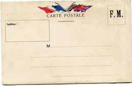 FRANCE CARTE DE FRANCHISE MILITAIRE NEUVE - Marcophilie (Lettres)