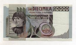 """Italia - Banconota Da Lire 10.000 """" Macchiavelli """" - BB++ - Decreto 8.3.1984 - (FDC8513) - [ 2] 1946-… : Républic"""