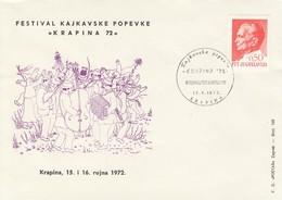 YUGOSLAVIA Cover 246,Krapina - 1945-1992 Sozialistische Föderative Republik Jugoslawien