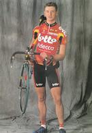 CYCLISME   ROEL PAULISSEN  (LOTTO ADECCO) - Cyclisme