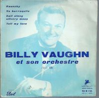 "45 Tours EP -  BILLY VAUGHN  - VERSAILLE 195 -   "" RAUNCHY "" +  3 - Vinyl Records"