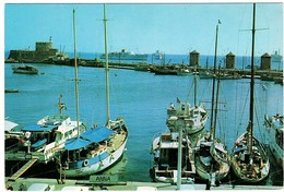 Rhodos 2 Postcards 2 Postcards - Griechenland