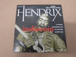 JIMI HENDRIX Live Royal Albert Hall 2006 UK CD Promo 10 Titres Live Cardsleeve - Collector's Editions