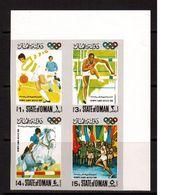 Oman-1968,(Mi.), Football, Soccer, Fussball,calcio,MNH - Calcio