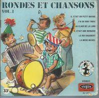 """45 Tours SP -  """" RONDES ET CHANSONS Vol. 1 """" (  GERMAINE BOURET ) + LIVRET 8 Pages - Soundtracks, Film Music"""