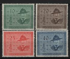Liechtenstein 1953 Unif. 277/80 **/MNH VF - Neufs