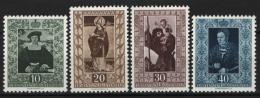 Liechtenstein 1953 Unif. 273/76 **/MNH VF - Neufs
