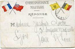 FRANCE CARTE DE FRANCHISE MILITAIRE AVEC OBLITERATION TRESOR ET POSTES 88 - Marcophilie (Lettres)