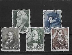 Pays-bas Yv. 274 285 295 305 Et 407 O. - Period 1891-1948 (Wilhelmina)