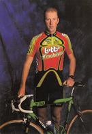 CYCLISME   PETER WUYTS  (LOTTO MOBISTAR) - Cyclisme