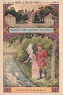 Chromo - Chocolat Poulain Orange - Chateau De Savigny Sur Orge - Poulain