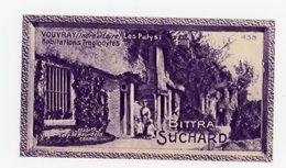 CHOCOLAT SUCHARD - VUES DE FRANCE - 438 - VOUVRAY, LES PATYS, HABITATIONS TROGLODYTES (INDRE & LOIRE) - Suchard