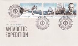 Australian Antarctic Territory 2014 Antarctic Expedition, Homeward Bound, FDC - FDC