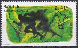 Mayotte 2002 Sport Sports Leichtathletik Athletics Athletisme Atletismo Atletica Laufen, Mi. 127 ** - Mayotte (1892-2011)