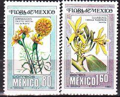 Mexico 1960. Orchids.Flower. Michel.1704+7. MNH.24881 - Orchidées