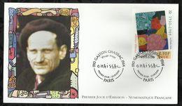 GASTON CHAISSAC . VISAGE ROUGE . 23 SEPTEMBRE  2000 . PARIS . - 2000-2009
