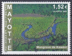 Mayotte 2002 Landschaften Landscape Natur Nature Flüsse Rivers Mangroven Mangroves Kaweni, Mi. 128 ** - Mayotte (1892-2011)