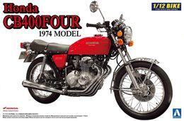 Honda CB400FOUR 1974  1/12 ( Aoshima ) - Motorcycles
