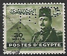 PER399 - EGITTO - PERFIN 213A - 30 M. - CATALOGO YVERT - Egypt