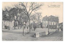 (19077-46) Gourdon - Allées De La République - Animé - Gourdon