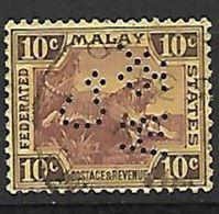 PER401 - MALESIA - PERFIN 20 - 10 C. - CATALOGO YVERT - Malesia (1964-...)