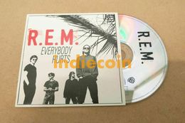 REM Everybody Hurts 1993 FR Rare CD EP 4 Titres Cardsleeve - Collector's Editions