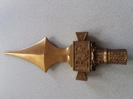 Pointe De Hampe En Bronze RF - 1914-18