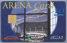 NL.- Telefoonkaart. PTT Telecom. ARENA CARD. 25 Gulden. AMSTERDAM. ABN-AMRO. AMSTERDAM RAI. 002-0433 - Sport
